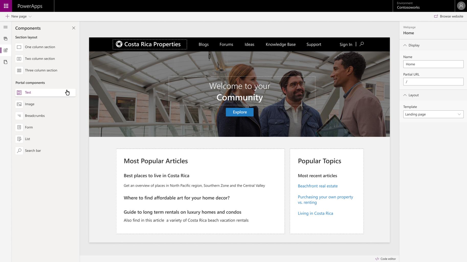 Portals Low Code App Portals Microsoft Power Apps