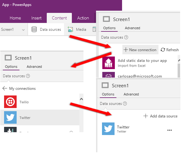 PowerApps-Add-New-Twitter-Connector