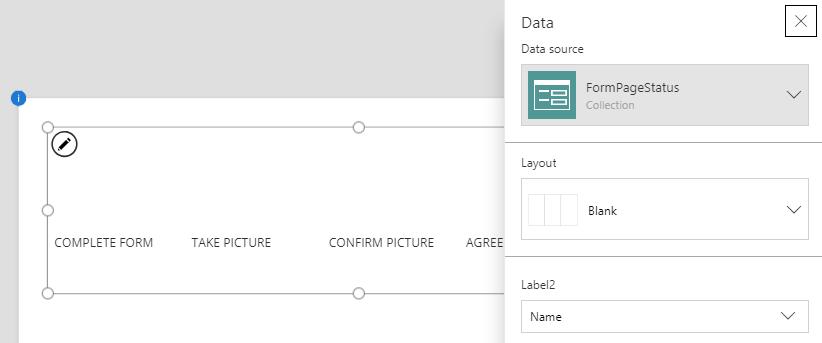 Progress Indicator with Tabular Data