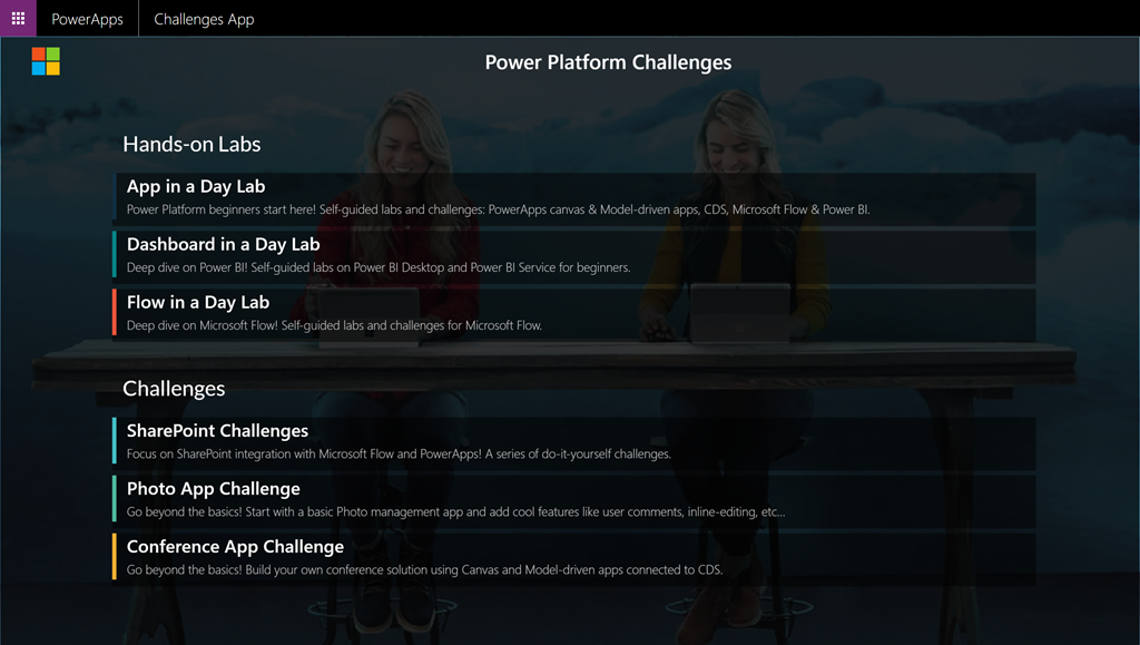 Power Platform Labs and Challenges