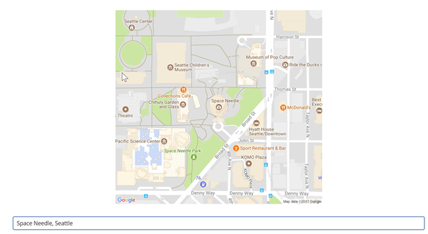 Displaying a Map using an Image Control in PowerApps and Bing Maps