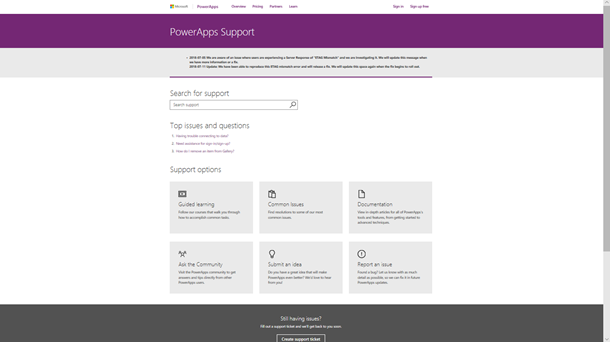 PowerApps_Support_Main