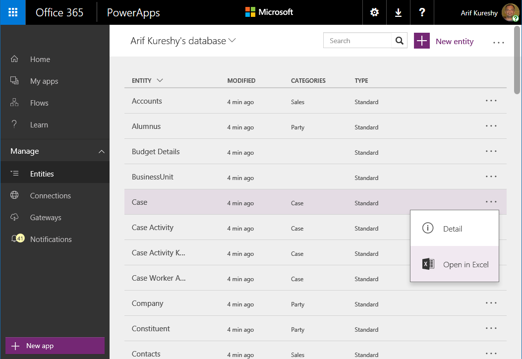 ... Excel . The workbook that is provided will use the PowerApps Excel Add