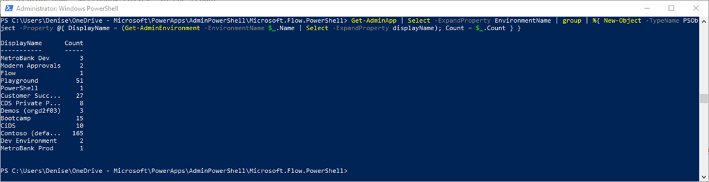 PowerShell Cmdlets for PowerApps and Flow creators and