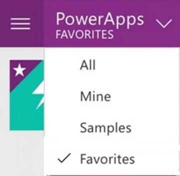 app filters
